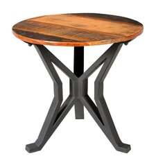 Minerva Round End Table by Gracie Oaks