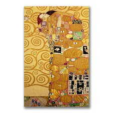 """Fulfillment"" by Gustav Klimt Painting Print on Wrapped Canvas"