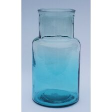 Hurricane Recycled Glass Floor Vase