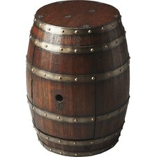 El Moro Barrel End Table by Loon Peak