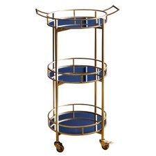 Herald 3 Tier Cylinder Bar Cart