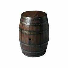 Elyse Barrel End Table by 17 Stories