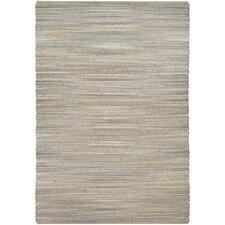 Damiana Hand-Loomed Straw/Gray Area Rug