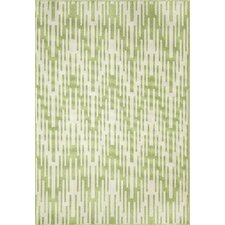 Wexler Hand-Woven Green Indoor/Outdoor Area Rug