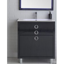 Platinum 36 Due Single Bathroom Vanity Set by Fresca