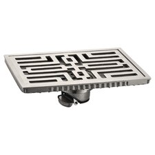 15cm Grid Shower Drain