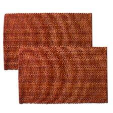 100% Cotton 2 Tone Placemat (Set of 2)
