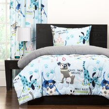 Crayola Chase Your Dreams Reversible Comforter Set
