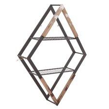 Metal/Wooden Wall Shelf