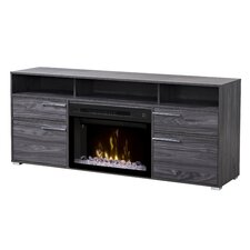 """Sander 66.5"""" TV Stand with Electric Fireplace"""