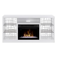"""Charlotte 60"""" TV Stand with Electric Fireplace"""