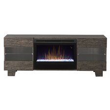 """Max 62"""" TV Stand with Electric Fireplace"""
