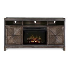 """Wyatt 64"""" TV Stand with Electric Fireplace"""