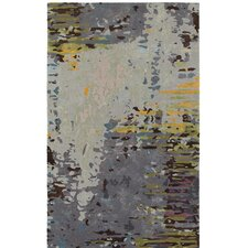 Wora Hand-Crafted Gray Area Rug
