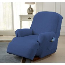 Savannah Recliner T-Cushion Slipcover by Home Fashion Designs