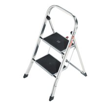 K30 2-Step Aluminium Step Stool with 159kg Load Capacity
