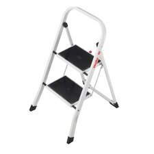 K20 2-Step Steel Step Stool with 159kg Load Capacity