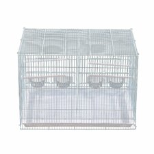 Metal Bird Cage with Perches