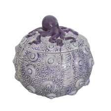 Decorative Ceramic Octopus Box