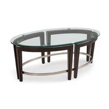 Heslin Oval Coffee Table by Brayden Studio