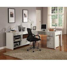 Bromley Desk and Credenza