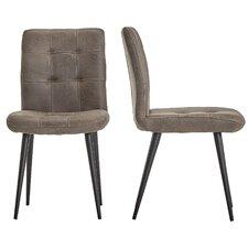 Hosea Microfiber Side Chair (Set of 2) by Mercury Row