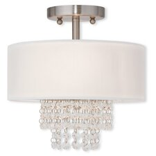 Peverall 2-Light Semi Flush Mount
