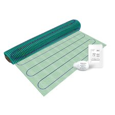 Floor Heating Kit with Easy Mat and NSpire Touch Programmable Thermostat