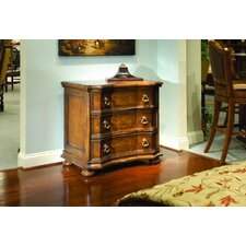 Verona 3 Drawer Accent Chest by Eastern Legends