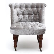 Shannon Crushed Velvet Slipper Chair