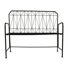 Thrapston Metal Entryway Bench by Kate and Laurel