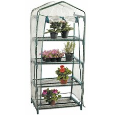 Vida 0.7m W x 0.5m D Mini Greenhouse