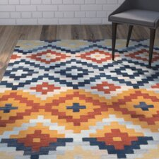 Pitkin Checked Area Rug