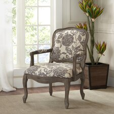 Braden Camel Back Exposed Wood Armchair by Ophelia & Co.