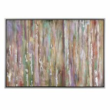 Choices Abstract Framed Painting Print