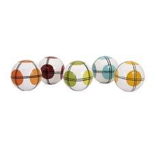 Decorative Ceramic Dots Ball (Set of 5)