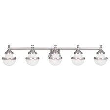 Montpelier 5-Light Vanity Light