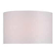 """16"""" Solid Fabric Drum Lamp Shade"""