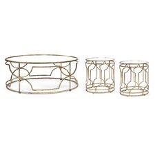 Sellar 3 Piece Coffee Table Set by House of Hampton