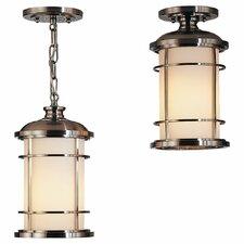Lighthouse 1 Light Outdoor Hanging Lantern