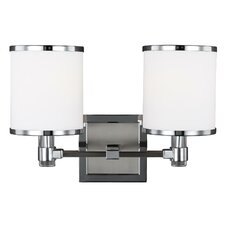 Gladys 2-Light Bath Vanity Light
