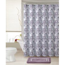 Terhune 2 Piece Shower Curtain Set
