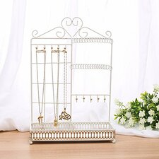 Metal Jewelry Display and Jewelry Stand Hanger Organizer