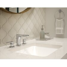 Identity Bathroom Faucet Double Handle with Drain Assembly