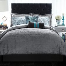 Relaxed Crinkle 3 Piece Comforter Set