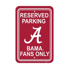 NCAA Parking Sign