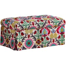 Cleveland Upholstered Storage Bedroom Bench by Bungalow Rose