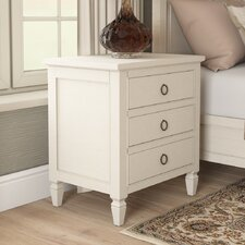 Causey Park 3 Drawer Nightstand by Canora Grey