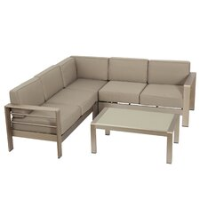 Kit 4 Piece Seating Group with Cushions