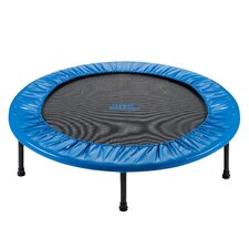 """Two-Way Foldable Rebounder 36"""" Trampoline with Carry-on Bag"""